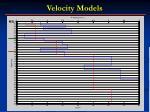 velocity models