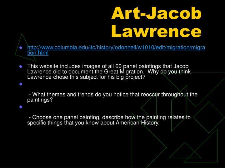 Art-Jacob Lawrence