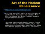 art of the harlem renaissance