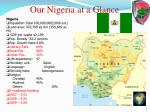 our nigeria at a glance