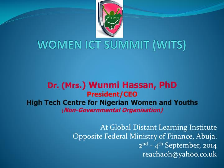 women ict summit wits n.