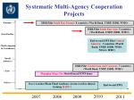 systematic multi agency cooperation projects