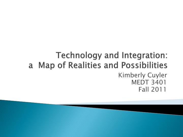 technology and integration a map of realities and possibilities n.