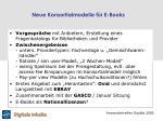 neue konsortialmodelle f r e books
