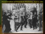 assassination of president mckinley sept 6 1901