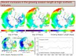 recent increases in the growing season length at high northern latitudes