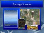 damage surveys
