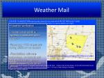 weather mail