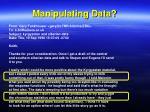 manipulating data1