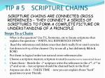 tip 5 scripture chains