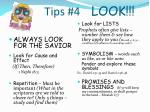 tips 4 look