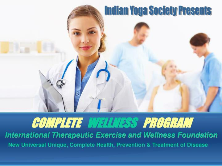 complete wellness program n.