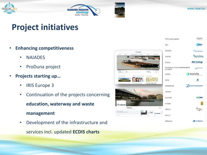 Project initiatives