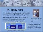 ix body odor