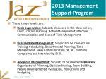2013 management support program1