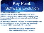 key point software evolution