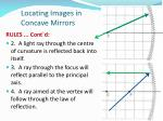 locating images in concave mirrors1