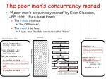 the poor man s concurrency monad