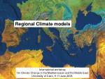 modelli regionali