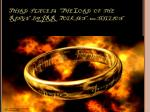 third place is the lord of the rings by jrr tolkien 100 million