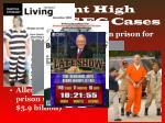 recent high profile sec cases