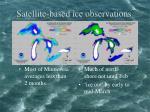 satellite based ice observations