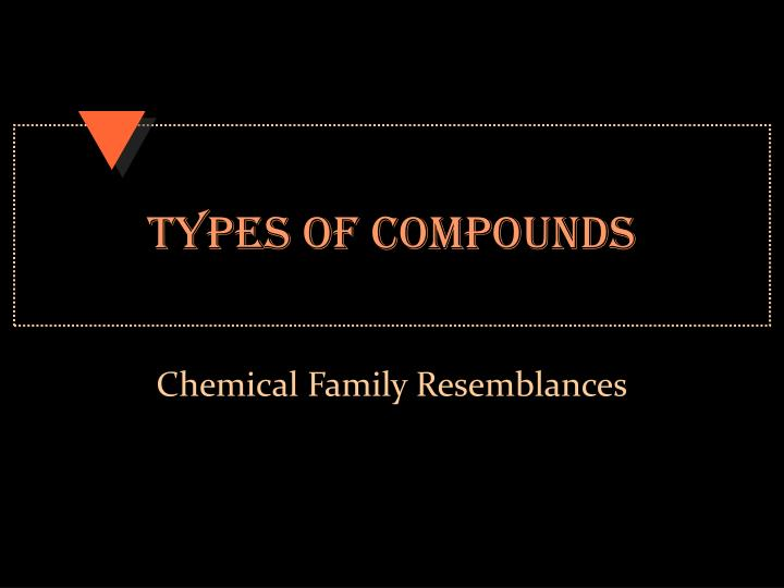 types of compounds n.