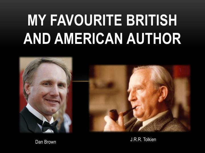 my favourite british and american author n.