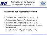 architekturen f r systeme intelligenter agenten ii