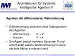 architekturen f r systeme intelligenter agenten v