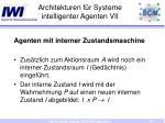 architekturen f r systeme intelligenter agenten vii