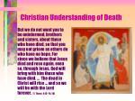 christian understanding of death
