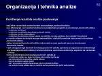 organizacija i tehnika analize32