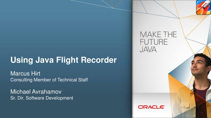 using java flight recorder n.