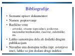 bibliografije