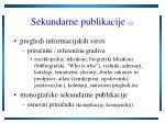 sekundarne publikacije 2