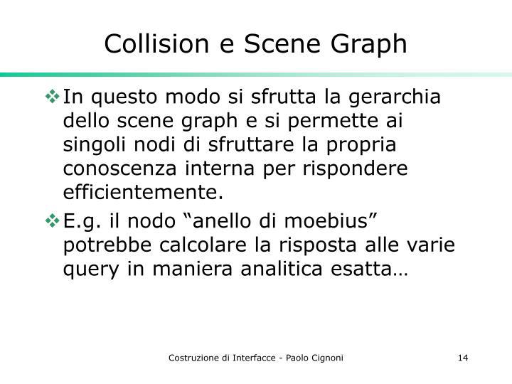 Collision e Scene Graph