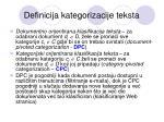 definicija kategorizacije teksta4