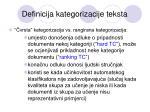 definicija kategorizacije teksta5