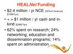 heal net funding