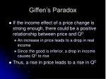 giffen s paradox