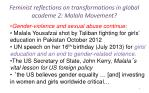 feminist reflections on transformations in global academe 2 malala movement