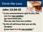 christ like love