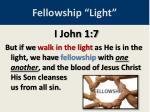 fellowship light