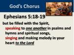 god s chorus