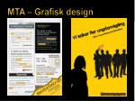 mta grafisk design