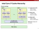 intel core i7 cache hierarchy