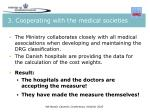 3 cooperating with the medical societies1