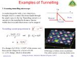 examples of tunnelling2