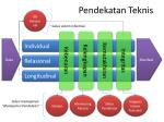 pendekatan teknis